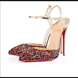 NEW IN BOX CHRISTIAN LOUBOUTIN SHOES. Size 38